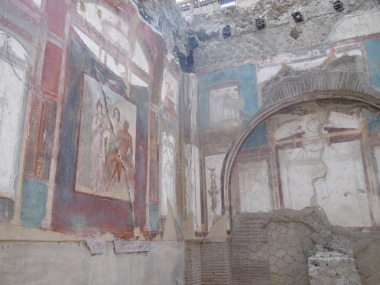 Hall of the Augustals, Herculaneum