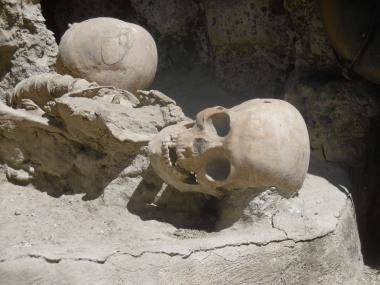 A victim of Vesuvius, 79AD