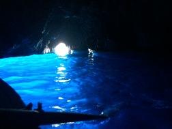 Grotto Azzuro, the Blue Grotto, Capri